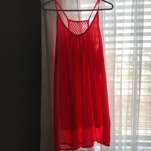 Dresses & Skirts - Bright orange summer dress